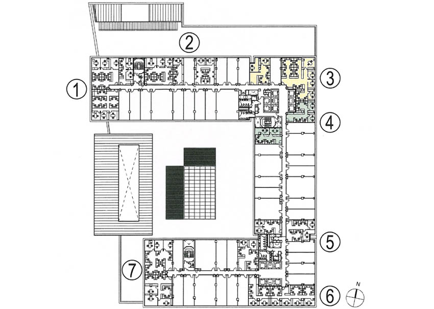 commercial office floor plan 3&4