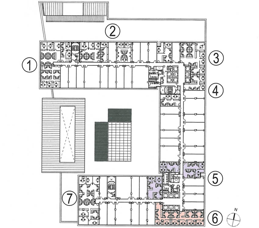 office floor plan5&6