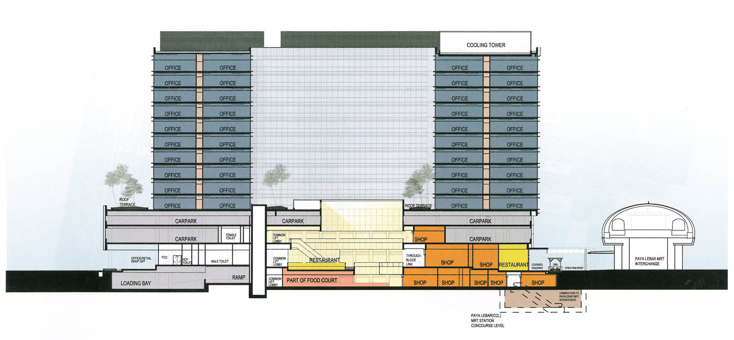 paya lebar square specification