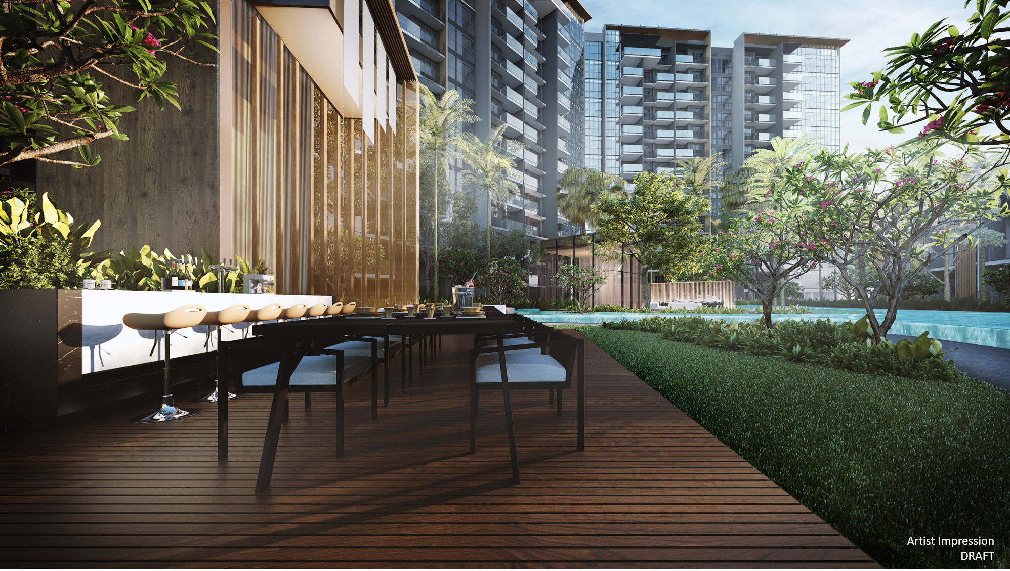 Affinity - outdoor dining
